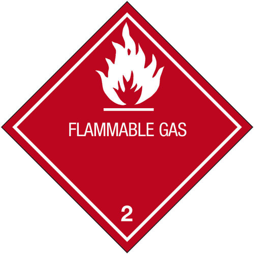 18-104 2.1 Palavat kaasut (teksti FLAMMABLE GAS)